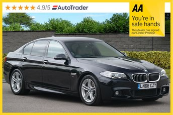 2016 BMW 5 SERIES 3.0 530D M SPORT 4d AUTO  £16495.00