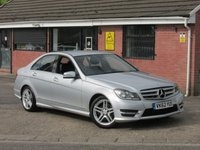 2012 MERCEDES-BENZ C CLASS C200 CDI BLUEEFFICIENCY AMG SPORT 4dr £7490.00