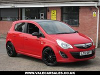 2012 VAUXHALL CORSA 1.2 LIMITED EDITION (BLUETOOTH) 5dr £4990.00