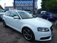 2011 AUDI A3 2.0 TDI S LINE SPECIAL EDITION 3d 138 BHP £6495.00