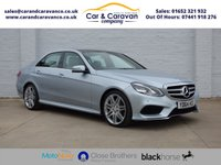USED 2014 64 MERCEDES-BENZ E CLASS 3.0 E350 BLUETEC AMG SPORT 4d AUTO 249 BHP 1 Owner Full Mercedes History Buy Now, Pay Later Finance!