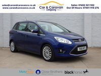 USED 2015 15 FORD GRAND C-MAX 1.6 TITANIUM TDCI 5d 114 BHP Full FORD History Huge Spec Buy Now, Pay Later Finance!