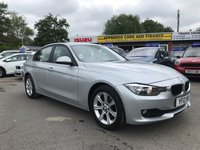 2012 BMW 3 SERIES 2.0 316D ES 4d 114 BHP IN METALLIC SILVER NEW SHAPE WITH A FULL SERVICE HISTORY AND 70,000 MILES £7299.00