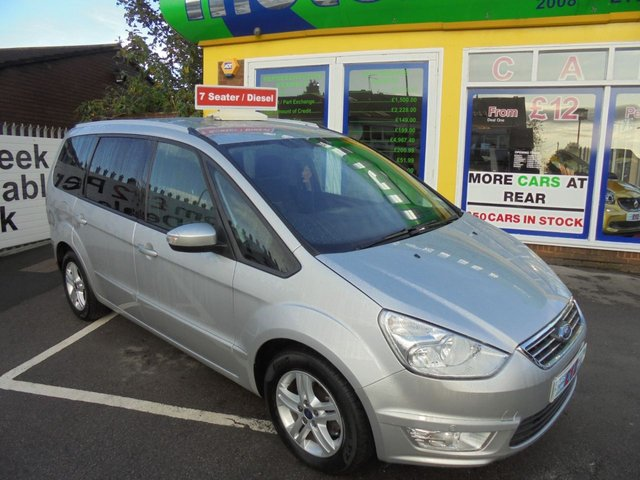 USED 2014 14 FORD GALAXY 1.6 ZETEC TDCI 5d 115 BHP 1 OWNER ..FULL SERVICE HISTORY