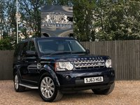 2013 LAND ROVER DISCOVERY 4 3.0 SDV6 XS 5dr AUTO 7 seats £18499.00