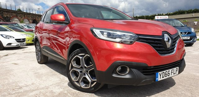 USED 2016 66 RENAULT KADJAR 1.5 DYNAMIQUE S NAV DCI 5d 110 BHP 2KEYS+19ALLOYWHEELS+PARKING+