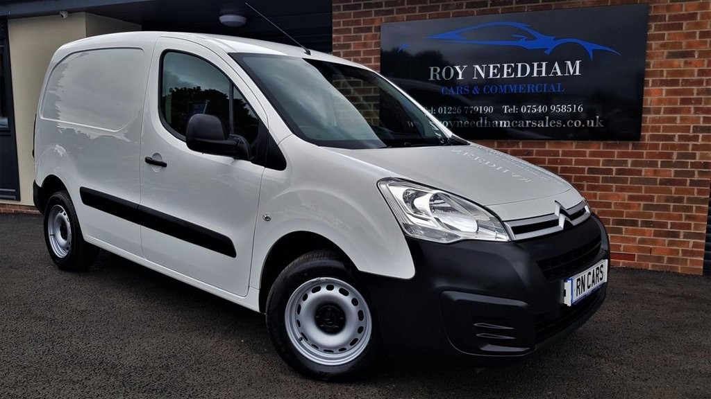 USED 2017 17 CITROEN BERLINGO 1.6 850 X L1 BLUEHDI 98 BHP *** FULL SERVICE HISTORY - PLY LINED ***