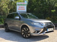USED 2016 16 MITSUBISHI OUTLANDER 2.0 PHEV GX 3H PLUS 5dr AUTO Leather, PDC, Cruise, £0 Tax