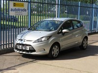 2010 FORD FIESTA 1.2 EDGE 5d 81 BHP £4000.00