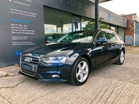 USED 2015 15 AUDI A4 2.0 TDI ULTRA SE TECHNIK 5d 161 BHP Full Audi history, NAV, 1owner, Leather, F&R Sensors, 2 keys, £30 TAX!