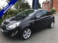 USED 2013 62 VAUXHALL CORSA 1.2 SXI AC 3d 83 BHP Low Mileage, Low Insurance and Looks Great