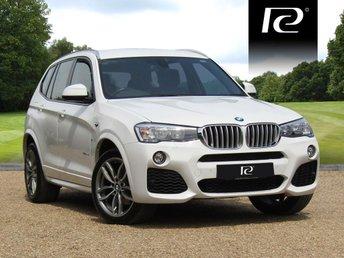 2016 BMW X3 3.0 XDRIVE35D M SPORT 5d AUTO 309 BHP £25990.00