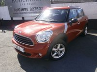 2014 MINI COUNTRYMAN 1.6 ONE D 5dr PEPPER PACK £8000.00