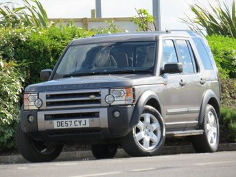 2007 LAND ROVER DISCOVERY 2.7 3 TDV6 HSE 5d AUTO 188 BHP £6490.00