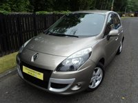 2010 RENAULT SCENIC 1.4 DYNAMIQUE TOMTOM TCE 5d 129 BHP £4688.00