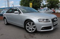 USED 2010 60 AUDI A4 2.0 TDI TECHNIK 4d 168 BHP EXCELLENT SPECIFICATION - FULL LEATHER - HEATED SEATS - SAT NAV - BLUETOOTH - DUAL ZONE CLIMATE CONTROL