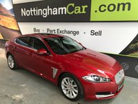 USED 2012 12 JAGUAR XF 3.0 V6 PREMIUM LUXURY 4d AUTO 240 BHP