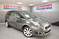 USED 2015 65 PEUGEOT 5008 1.6 BLUE HDI S/S ALLURE 5d AUTO 120 BHP Panoramic glass roof, Sat nav, Park sensors, Bluetooth, Cruise control