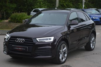 2015 AUDI Q3 2.0 TDI QUATTRO S LINE PLUS 5d AUTO 184 BHP.EXCLUSIVE COLOUR £17995.00