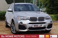 USED 2016 16 BMW X3 3.0 XDRIVE30D M SPORT 5d AUTO 255 BHP NAVIGATION 19