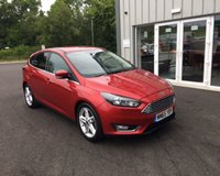 USED 2015 53 FORD FOCUS 1.5 TDCI TITANIUM NAVIGATOR 120 BHP THIS VEHICLE IS AT SITE 1 - TO VIEW CALL US ON 01903 892224