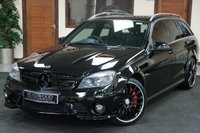 USED 2010 10 MERCEDES-BENZ C CLASS 6.2 C63 AMG 5d AUTO 451 BHP