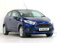 2015 FORD FIESTA 1.6 ZETEC 3d AUTO 104 BHP £7916.00