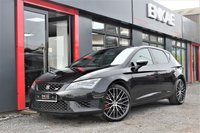 """USED 2015 15 SEAT LEON 2.0 TSI CUPRA DSG 5d AUTO 276 BHP UPGRADED 19"""" ALLOYS*BUCKETS SEATS*280 BHP*BEST COLOUR IN BLACK*PRIVACY GLASS*AUTOMATIC*FOLDING MIRRORS*XENON HEADLIGHTS DRL RUNNING LIGHTS MFSW*PARKING SENSORS*2 PREVIOUS OWNERS*NICE CLEAN CAR*DRIVES AND LOOKS FANTASTIC WELL MAINTAINED AND CARED FOR CAR*"""