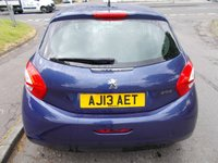 USED 2013 13 PEUGEOT 208 1.4 HDI ACTIVE 5d 68 BHP ++LOW MILEAGE DIESEL WITH SERVICE HISTORY+FREE 6 MONTHS BREAKDOWN COVER++