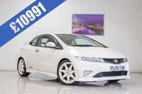 2009 HONDA CIVIC 2.0 I-VTEC TYPE-R CHAMPIONSHIP WHITE 3d 198 BHP £10991.00