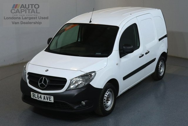 2014 64 MERCEDES-BENZ CITAN 1.5 109 CDI 90 BHP  ONE OWNER FROM NEW
