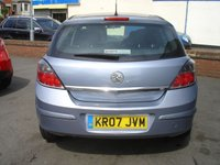 USED 2007 07 VAUXHALL ASTRA 1.6 LIFE A/C 5d 115 BHP