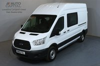 USED 2015 65 FORD TRANSIT 2.2 350 L3 H3 LWB HIGH ROOF 124 BHP RWD 7 SEATER COMBI CREW MESS VAN FITTED TABLE, MICROWAVE, WATER BOILER