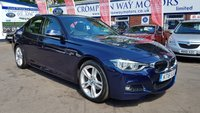 USED 2016 16 BMW 3 SERIES 2.0 320D M SPORT 4d AUTO 188 BHP 0%  FINANCE AVAILABLE ON THIS CAR PLEASE CALL 01204 393 181