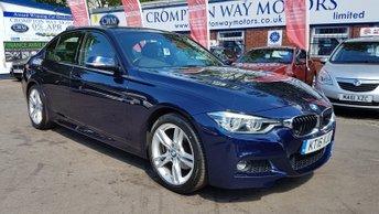 2016 BMW 3 SERIES 2.0 320D M SPORT 4d AUTO 188 BHP £16975.00