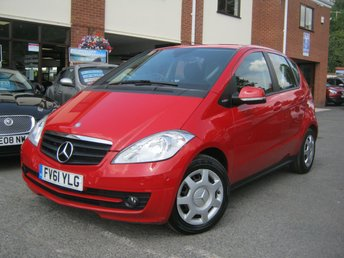 2011 MERCEDES-BENZ A CLASS 1.5 A160 BLUEEFFICIENCY CLASSIC SE 5d 95 BHP £SOLD