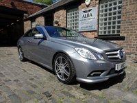 2010 MERCEDES-BENZ E CLASS 2.1 E220 CDI BLUEEFFICIENCY SPORT 2d AUTO 170 BHP £9393.00