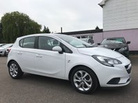 USED 2016 66 VAUXHALL CORSA 1.3 CDTi ENERGY AC ECOFLEX S/S 5d 74 BHP WITH ONE PRIVATE OWNER FROM NEW NO DEPOSIT PCP/ECP/HP FINANCE ARRANGED, APPLY HERE NOW