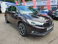 USED 2016 16 DS DS 4 1.6 BLUEHDI PRESTIGE S/S 5d 120 BHP 0%  FINANCE AVAILABLE ON THIS CAR PLEASE CALL 01204 393 181