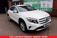 USED 2016 66 MERCEDES-BENZ GLA-CLASS 1.6 GLA 200 SE EXECUTIVE 5d 154 BHP +LEATHER +SENSORS +SAT NAV