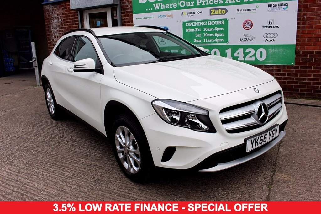 2016 66 MERCEDES-BENZ GLA-CLASS 1.6 GLA 200 SE EXECUTIVE 5d 154 BHP