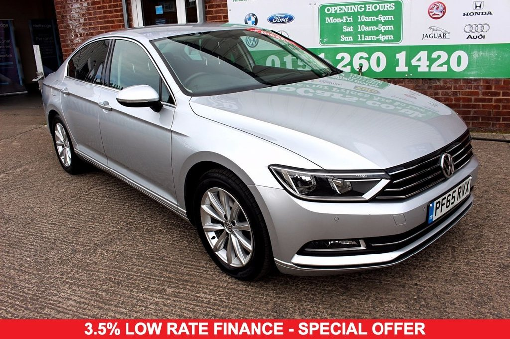 2016 65 VOLKSWAGEN PASSAT 1.6 SE BUSINESS TDI BLUEMOTION TECHNOLOGY 4d 119 BHP