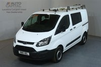 USED 2015 15 FORD TRANSIT CUSTOM 2.2 290 L1H1 SWB 99 BHP 6 SEATER COMBI VAN MOT UNTIL 29/05/2020
