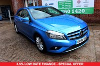USED 2014 64 MERCEDES-BENZ A CLASS 1.5 A180 CDI ECO SE 5d 109 BHP +HALF LEATHER +FREE TAX +FSH.