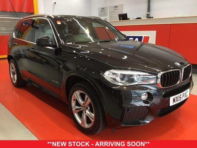2015 15 BMW X5 2.0 XDRIVE25D M SPORT 5d AUTO 215 BHP