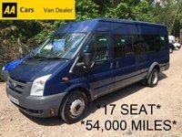 2006 FORD TRANSIT 17 SEAT MINIBUS 115BHP XLWB 115 BHP