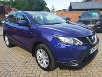USED 2015 15 NISSAN QASHQAI 1.6 DCI ACENTA SMART VISION 5d AUTO 128 BHP FSH+PHONE+CRUISE+LANE ASSIST