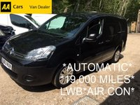 2013 CITROEN BERLINGO AUTOMATIC LWB 1.6 HDi L2 *19,000 MILES*AIR CON*CRUISE* £8495.00