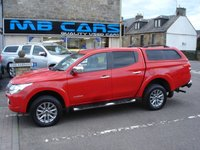 "USED 2016 16 MITSUBISHI L200 2.4 DI-D 4X4 WARRIOR DCB 1d 178 BHP 1 OWNER F.S.H""NO VAT"""