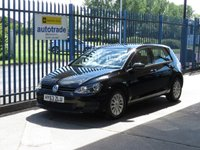 2013 VOLKSWAGEN GOLF 1.6 S TDI BLUEMOTION TECHNOLOGY 5d 103 BHP £7000.00
